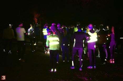 De Wieden Night Trail door kou en regen